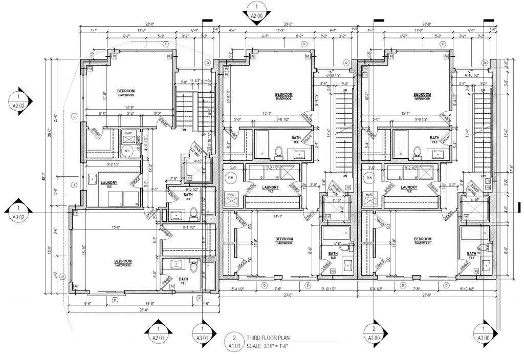 riverside luxury townhomes - third floor